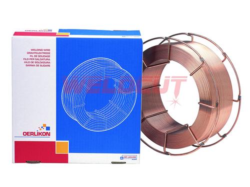 Copper coated metal cored wire Oerlikon FLUXOFIL M 10