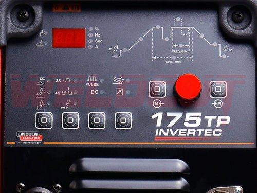 Inverter welder TIG Lincoln Electric Invertec 175-TP (PFC)