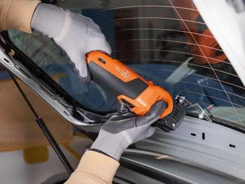 Professional Set Fein SuperCut FSC 1.7 Q for vehicle glazing