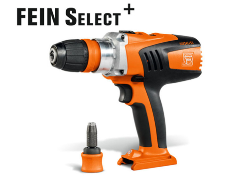 4-biegowa wiertarko-wkrętarka  Fein ASCM 18 QX select