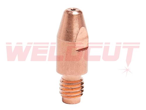 Końcówka prądowa MB501 M8x30x1.6mm ALU 141.0022